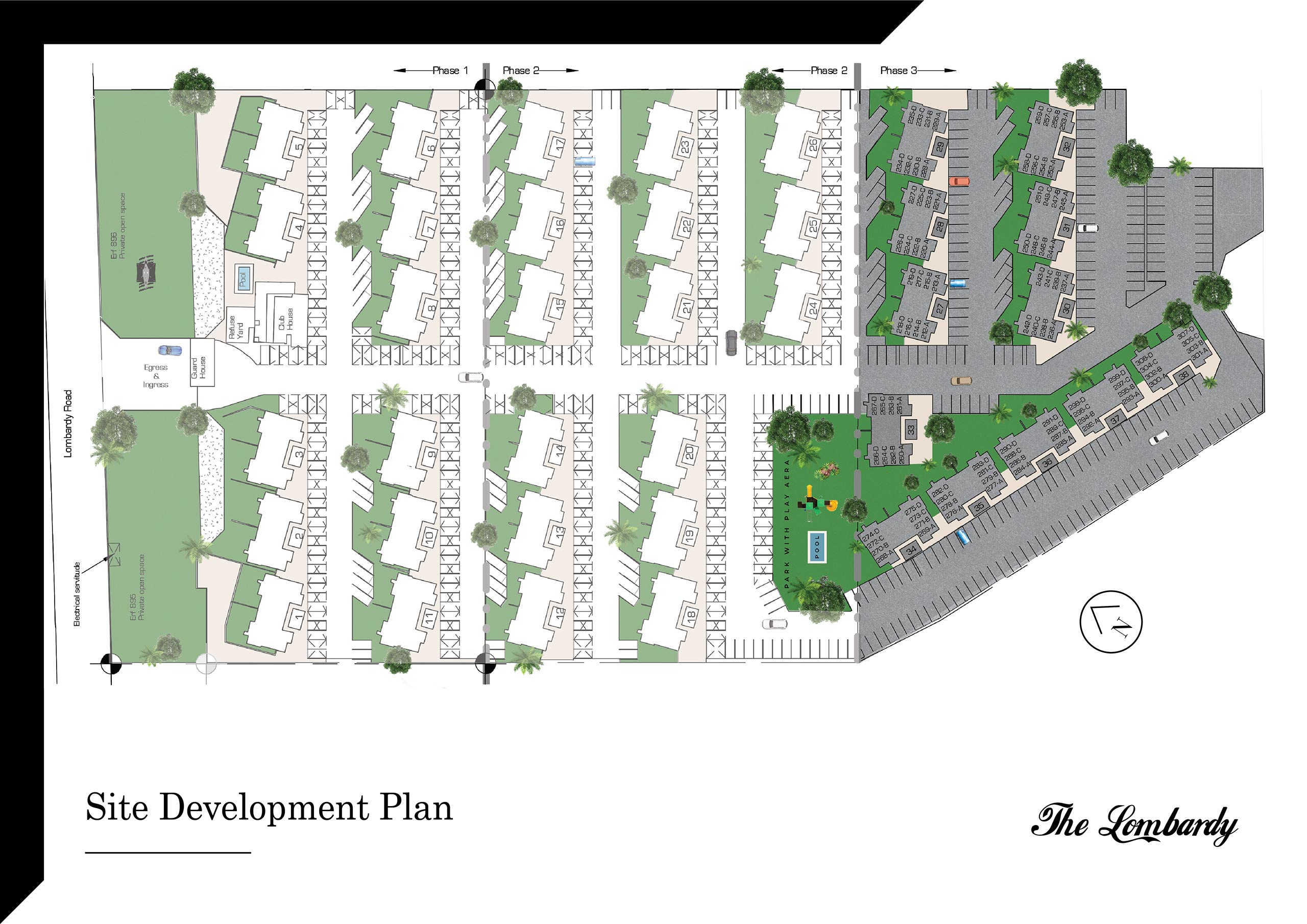 Site Development Plan at The Lombardy
